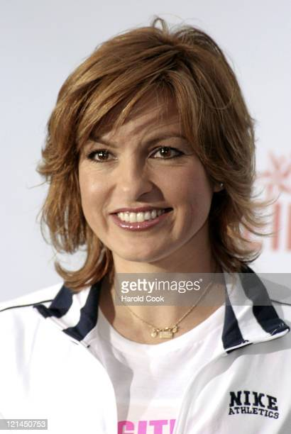 Mariska Hargitay during 8th Annual REVLON Run/Walk for Women at Times Square in New York City New York United States