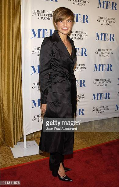 Mariska Hargitay during The Museum of Television Radio's Annual Los Angeles Gala at Regent Beverly Wilshire Hotel in Beverly Hills California United...