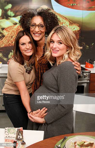 THE CHEW Mariska Hargitay is the guest Wednesday September 23 2015 on ABC's 'The Chew' 'The Chew' airs MONDAY FRIDAY on the ABC Television Network