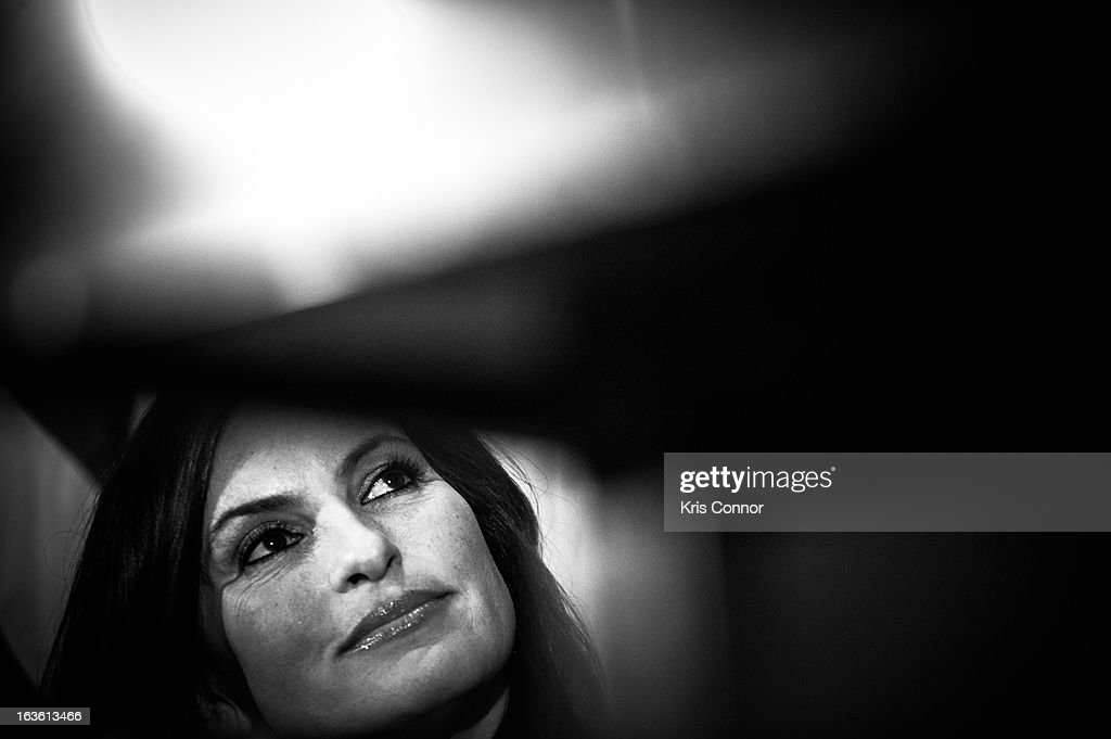 <a gi-track='captionPersonalityLinkClicked' href=/galleries/search?phrase=Mariska+Hargitay&family=editorial&specificpeople=204727 ng-click='$event.stopPropagation()'>Mariska Hargitay</a> speaks during a National Press Club Luncheon about her career and founding the Joyful Heart Foundation, whose mission is of healing, educating and empowering survivors of sexual assault, domestic violence and child abuse at National Press Club on March 13, 2013 in Washington, DC.