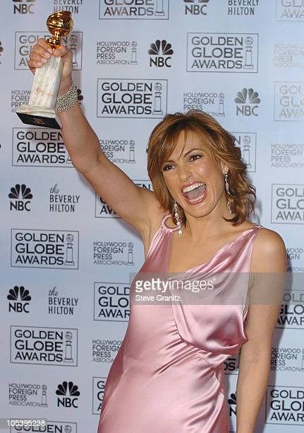 Mariska Hargitay winner of Best Dramatic Actress for a Television Series for 'Law Order Special Victims Unit'