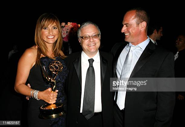 Mariska Hargitay winner Outstanding Lead Actress in a Drama Series for 'Law Order Special Victims Unit' guest and Christopher Meloni