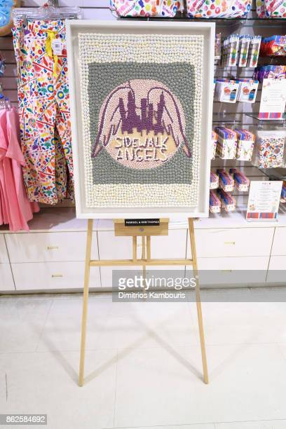 Marisol and Rob Thomas's artwork on display as Dylan Lauren celebrates the Sweet 16 of Dylan's Candy Bar on October 17 2017 in New York City
