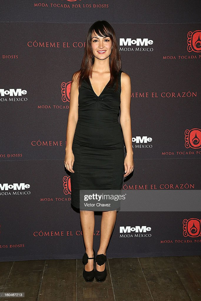 Marisol Centeno attends the Comeme El corazon Moda Tocada Por Los Dioses event at Estacion Indianilla on January 31, 2013 in Mexico City, Mexico.