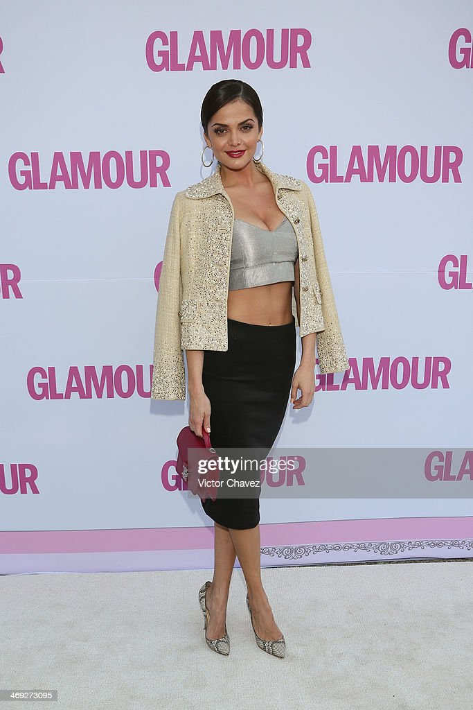 Marisol González attends the Glamour Magazine México Beauty Awards 2013 at Museo Rufino Tamayo on February 13, 2014 in Mexico City, Mexico.