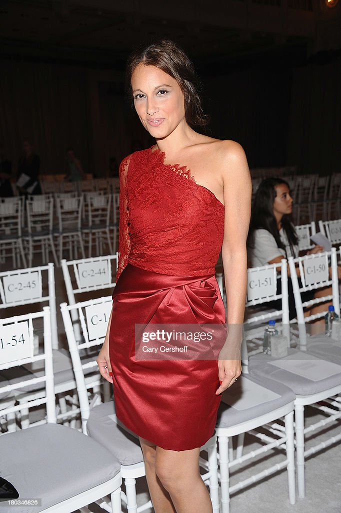 Marisol Maldonado attends the Marchesa show during Spring 2014 Mercedes-Benz Fashion Week at New York Public Library on September 11, 2013 in New York City.