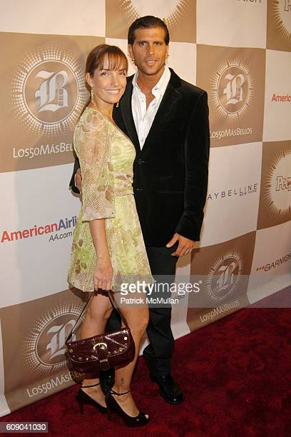 Marisol Meier and Christian Meier attend PEOPLE EN ESPANOL'S '50 Most Beautiful' StarStudded Event at Splashlight Studios on May 16 2007 in New York...