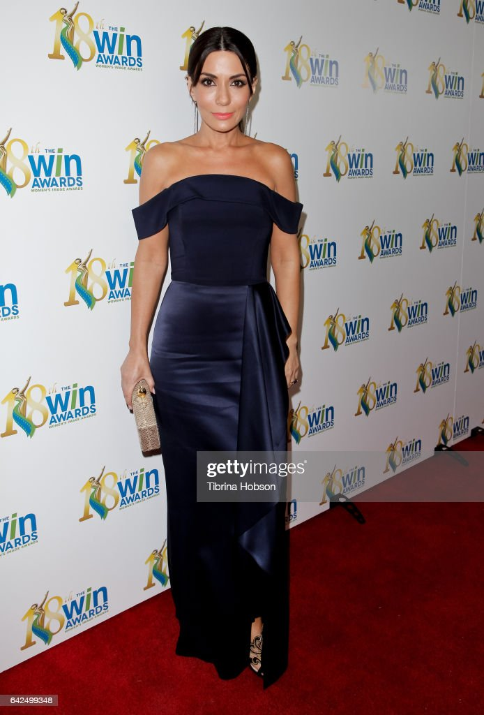 Marisol Nichols attends the 18th Annual Women's Image Awards at Skirball Cultural Center on February 17, 2017 in Los Angeles, California.
