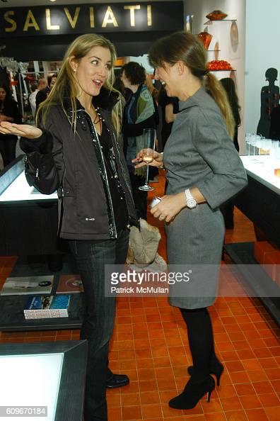 Marissa Brown and Vanessa Weiner von Bismarck attend NEW YORKERS FOR CHILDREN SALVIATI CHARITY BENEFIT at Salviati on December 13 2007 in New York...