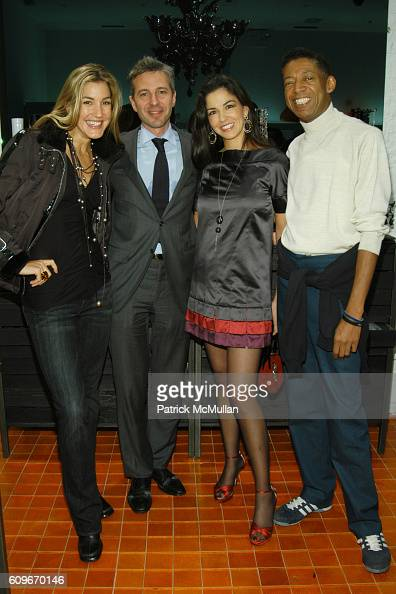 Marissa Brown Frederic Briere Dayssi Olarte de Kanavos and b Michael attend NEW YORKERS FOR CHILDREN SALVIATI CHARITY BENEFIT at Salviati on December...