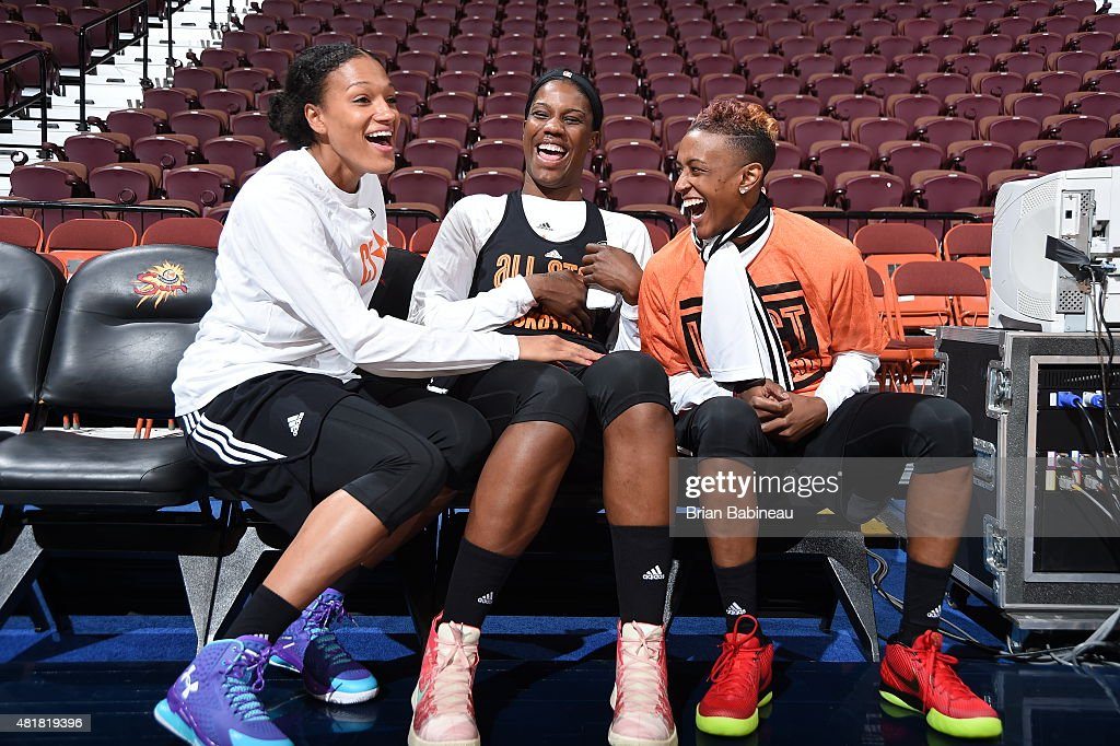WNBA All-Star Practices East/West Team 2015