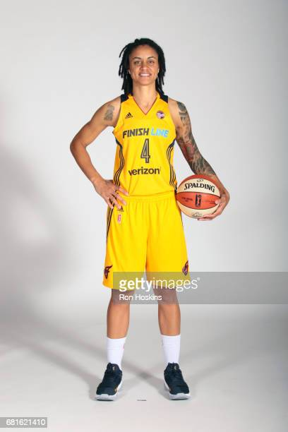 Marissa Coleman of the Indiana Fever poses for a portrait during Media Day at Bankers Life Fieldhouse on May 9 2017 in Indianapolis Indiana NOTE TO...