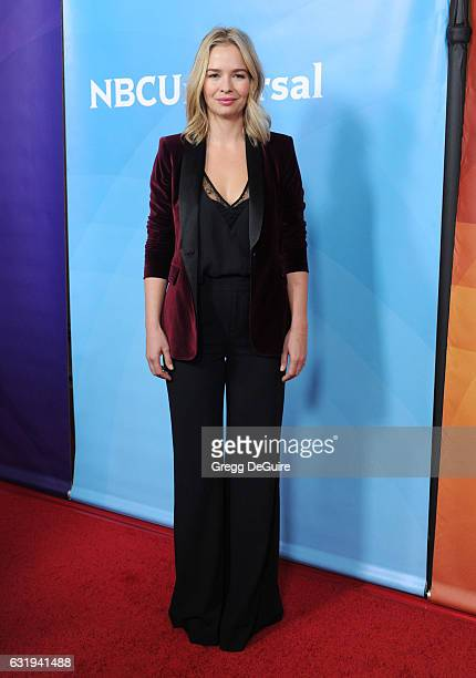 Marissa Hermer arrives at the 2017 NBCUniversal Winter Press Tour Day 1 at Langham Hotel on January 17 2017 in Pasadena California