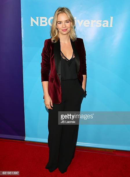 Marissa Hermer attends the 2017 NBCUniversal Winter Press Tour Day 1 at Langham Hotel on January 17 2017 in Pasadena California