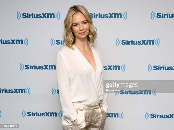 Marissa Hermer visits at SiriusXM Studios on February 7 2017 in New York City