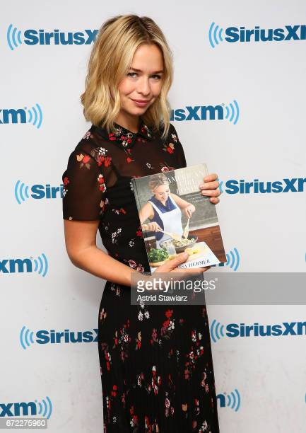Marissa Hermer visits the SiriusXM Studios on April 24 2017 in New York City
