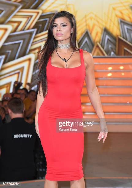 Marissa Jade is evicted from the Celebrity Big Brother House at Elstree Studios on August 8 2017 in Borehamwood England