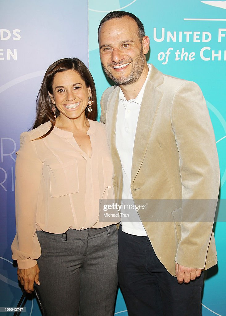 Marissa Jaret Winokur (L) and Judah Miller arrive at the United Friends of the Children Brass Ring Awards 2013 held at The Beverly Hilton Hotel on May 29, 2013 in Beverly Hills, California.