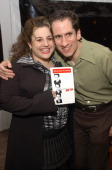 Marissa Jaret Winokur and Seth Rudetsky during Off Broadway Comedy Opening Rhapsody in Seth After Party at Sushi Samba in New York City New York...