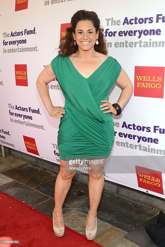 Marissa Jaret Winokur arrives at The Actors Fund 17th Annual Tony Awards Viewing Party held at Taglyan Cultural Complex on June 9, 2013 in Hollywood, California.