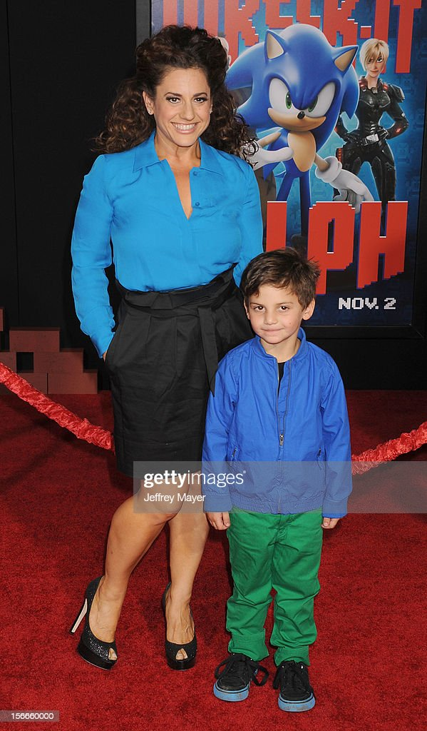 Marissa Jaret Winokur arrives at the Los Angeles premiere of 'Wreck-It Ralph' at the El Capitan Theatre on October 29, 2012 in Hollywood, California.