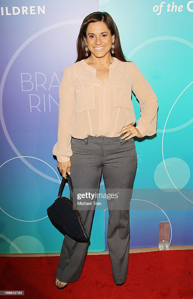Marissa Jaret Winokur arrives at the United Friends of the Children Brass Ring Awards 2013 held at The Beverly Hilton Hotel on May 29, 2013 in Beverly Hills, California.