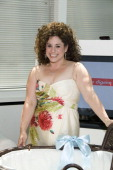 Marissa Jaret Winokur at her baby shower on June 9 2008 at a private venue in New York City