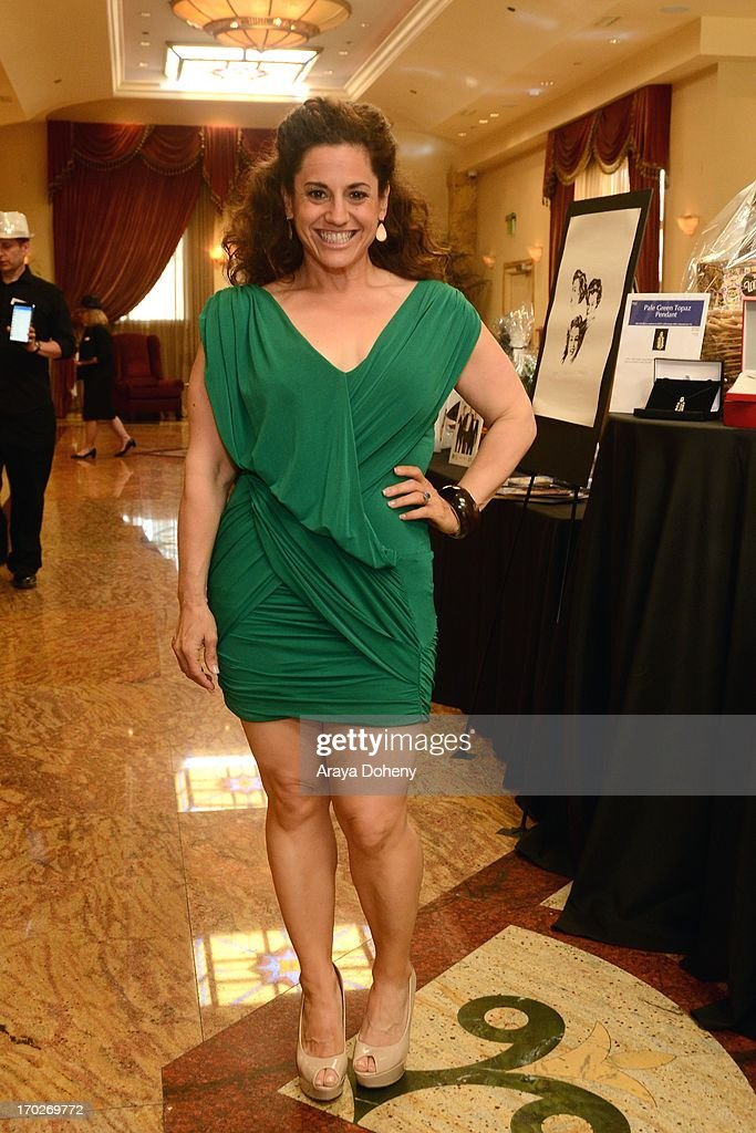 Marissa Jaret Winokur attends the the Actors Fund's 17th annual Tony Awards viewing party held at Taglyan Cultural Complex on June 9, 2013 in Hollywood, California.
