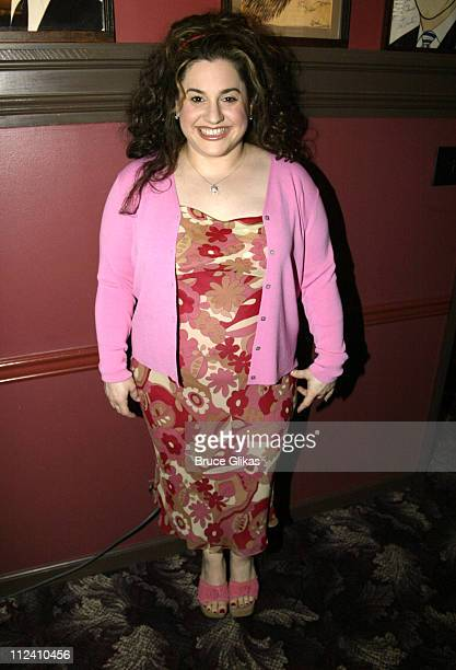 Marissa Jaret Winokur during 20022003 Outer Critics Circle Awards at Sardis in New York City New York United States