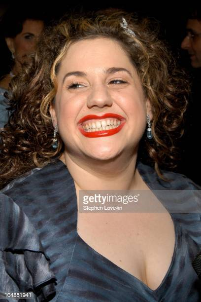 Marissa Jaret Winokur during 2003 Tony Awards Arrivals at Radio City Music Hall in New York City NY United States