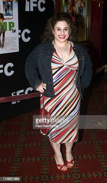 Marissa Jaret Winokur during IFC's Premiere of 'Camp' New York in New York City New York United States