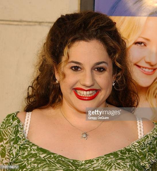 Marissa Jaret Winokur during 'Le Divorce' Premiere Los Angeles at Mann's Festival Theatre in Westwood California United States