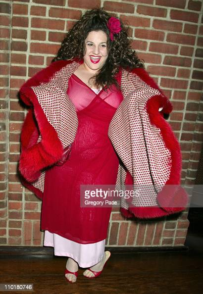 Marissa Jaret Winokur during Opening Night of Baz Luhrmann's Production of Puccini's 'La Boheme' at Broadway Theater in New York City New York United...