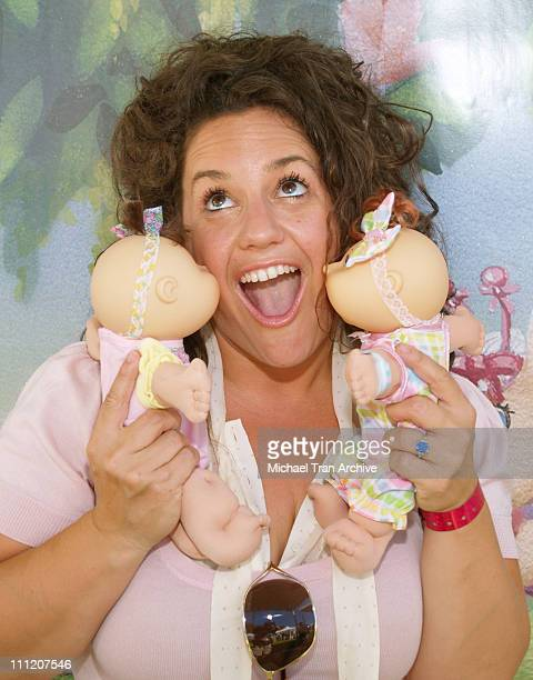 Marissa Jaret Winokur during Silver Spoon Buffet at the 'Cabbage Patch Kids Newborns' Booth Day 2 at Wattles Mansion in Hollywood California United...