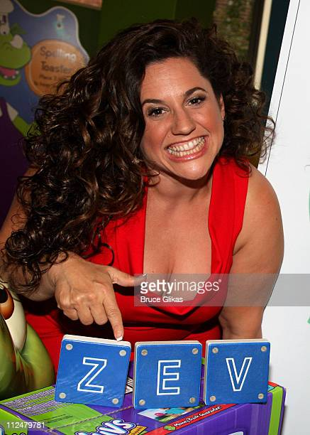 Marissa Jaret Winokur launches the Luvs Baby Diapers 'Take A Stand' campaign at the Children's Museum of Manhattan on September 15 2009 in New York...