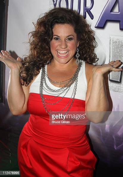 Marissa Jaret Winokur promotes Oxygen Networks new show 'Dance Your Ass Off' in Herald Square on June 29 2009 in New York City
