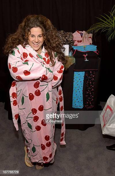 Marissa Jaret Winokur with A A2 Jamatex Loungewear