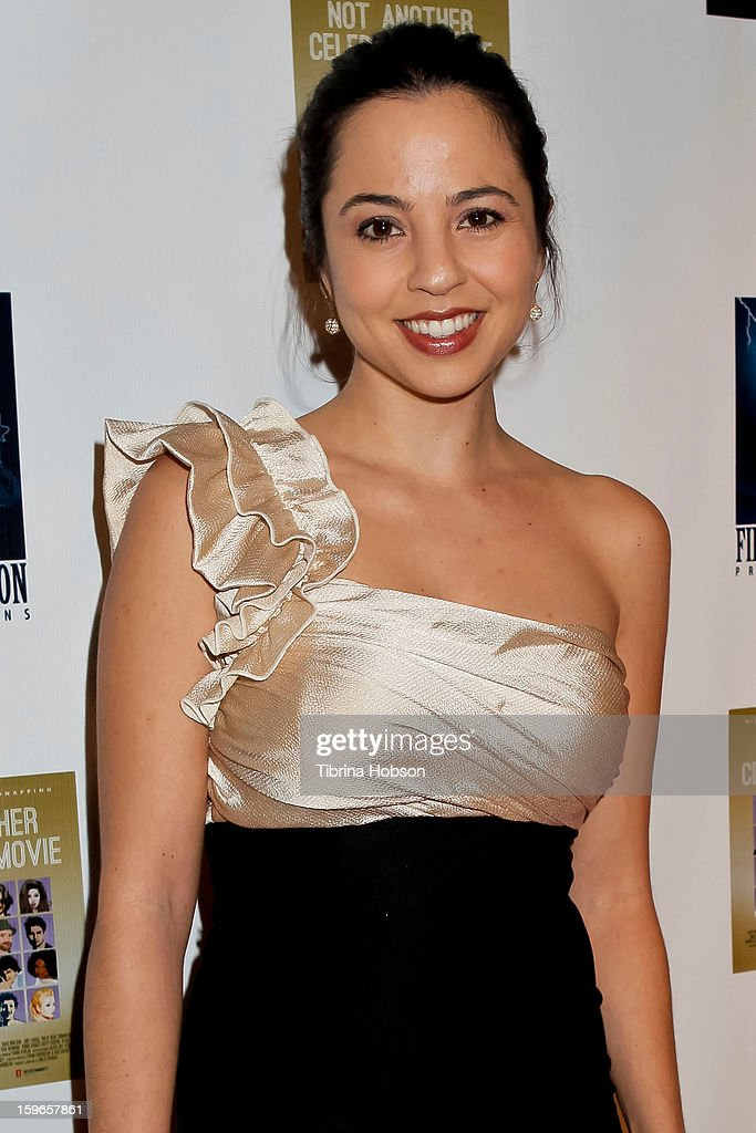 Marissa Leon attends the 'Not Another Celebrity Movie' Los Angeles premiere at Pacific Design Center on January 17, 2013 in West Hollywood, California.
