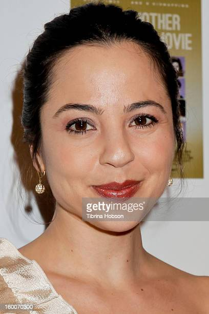Marissa Leon attends the 'Not Another Celebrity Movie' Los Angeles premiere at Pacific Design Center on January 17 2013 in West Hollywood California
