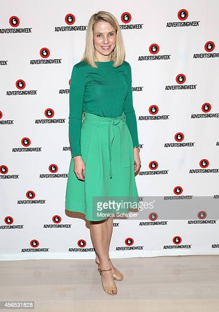 Marissa Mayer attends A Conversation with Marissa Mayer panel during AWXI on October 2 2014 in New York City