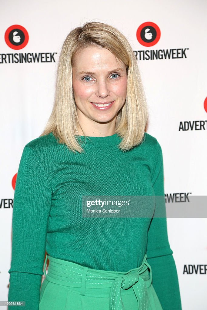 <a gi-track='captionPersonalityLinkClicked' href=/galleries/search?phrase=Marissa+Mayer&family=editorial&specificpeople=5577875 ng-click='$event.stopPropagation()'>Marissa Mayer</a> attends A Conversation with <a gi-track='captionPersonalityLinkClicked' href=/galleries/search?phrase=Marissa+Mayer&family=editorial&specificpeople=5577875 ng-click='$event.stopPropagation()'>Marissa Mayer</a> panel during AWXI on October 2, 2014 in New York City.