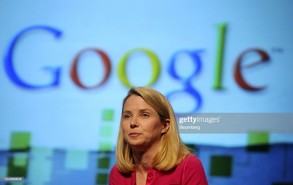 Marissa Mayer vice president for search products and user experience at Google Inc speaks at the TechCrunch Disrupt conference in San Francisco...