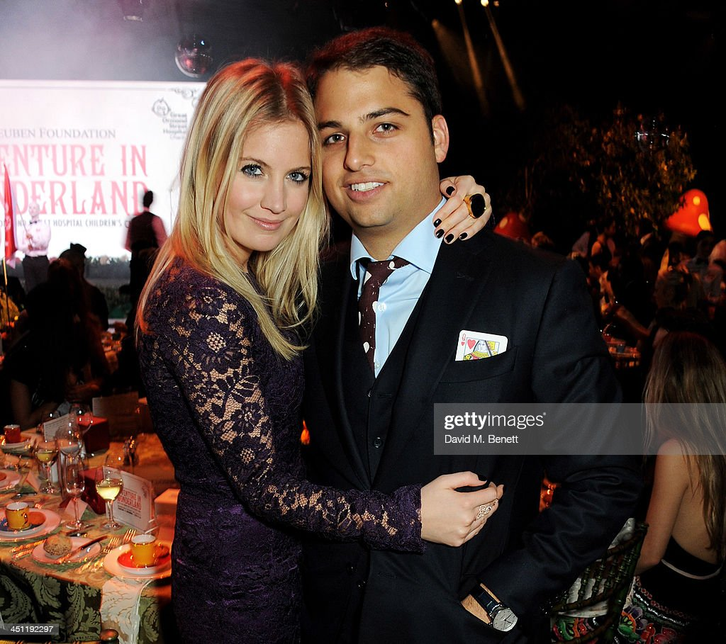 Marissa Montgomery and Jamie Reuben attend the Adventure in Wonderland Ball held by The Reuben Foundation in aid of Great Ormond Street Hospital...