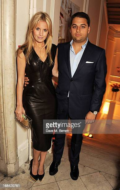 Marissa Montgomery and Jamie Reuben attend the launch of Candy Magazine's Spring/Summer 2013 issue supported by Grey Goose at Il Bottaccio on May 9...
