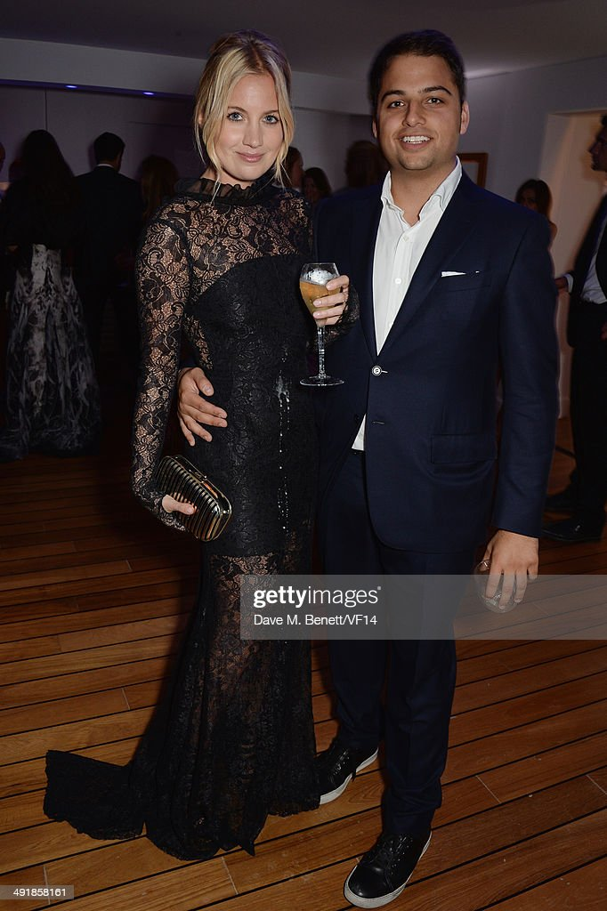 Marissa Montgomery and Jamie Reuben attend the Vanity Fair And Armani Party at the 67th Annual Cannes Film Festival on May 17 2014 in Cap d'Antibes...