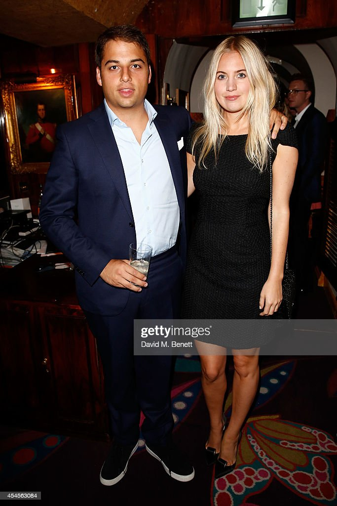 Marissa Montgomery and Jamie Reuben attends the GENETIC X Liberty Ross Launch Event At Annabel's on September 3 2014 in London United Kingdom