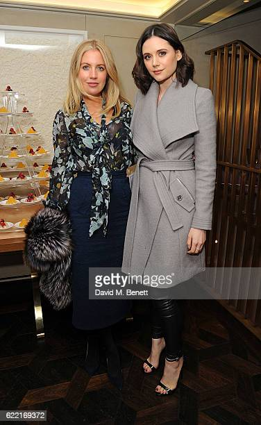 Marissa Montgomery and Lilah Parsons attend 5 Years of Gazelli SkinCare on November 10 2016 in London England