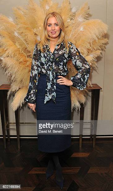 Marissa Montgomery attends 5 Years of Gazelli SkinCare on November 10 2016 in London England