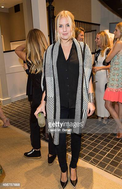Marissa Montgomery attends a dinner to celebrate luxury Spanish fashion house Delpozo hosted by Poppy Delevingne at Moda Operandi on October 6 2014...