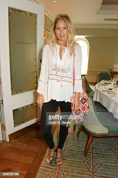 Marissa Montgomery attends a lunch hosted by Tamara Beckwith and Alessandra Vicedomini to celebrate luxury fashion brand Vicedomini at Fortnum Mason...